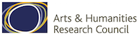 Colour logo for the Arts and Humanities Research Council